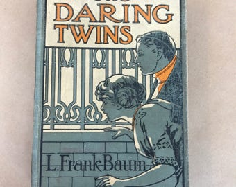 Literary gifts, literature, The daring twins, antique book, rare book, first edition book, the daring twins first edition, gifts for readers