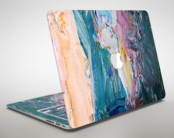 Abstract Oil Strokes - Apple MacBook Air or Pro Skin Kit (All Versions Available)
