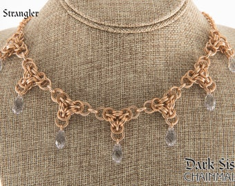The Strangler Necklace in Bronze