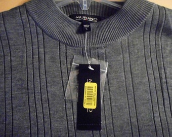 Very Nice Shirt  Silk/Cotton Blend  Size Large   by MURANO    Never Worn,   Still With Tags On