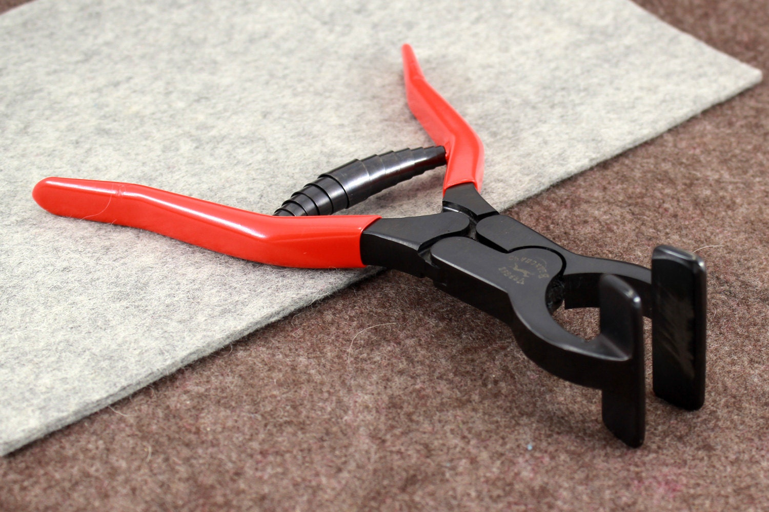 Edge Clamp Pliers Vergez Blanchard/Leather Press Tool/Glueing