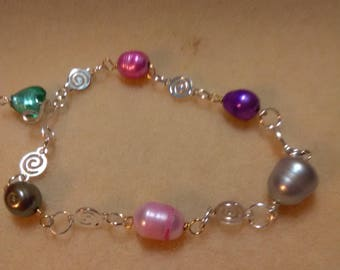Party Pearls and Swirls