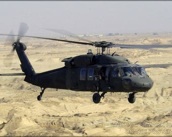 Poster, Many Sizes Available; Uh-60 Black Hawk