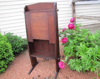 "Antique ""Gustav Stickley"" Chalet Drop Front Desk   w1104"