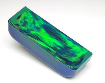 Aurora Opal - 164.62 g, Green Opal, Rough Opal, Multicolored Opal for Opal Jewellery, Opal Carvings or Opal Inlays (Lab Created Opal)