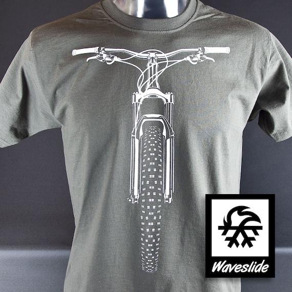 Functional Sports T-shirt road rear derailleur mountainbike MTB Bike by Waveslide M5q2ark