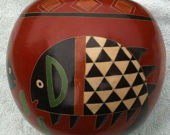 San Juan de Oriente pottery