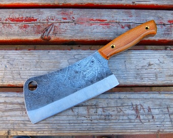"Axe, hatchet ""Butcher"". is very powerful !! forged. handmade from Russia !!"