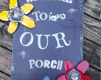 SwEeT PoRcH SiGn CaN CuStOmIzE CoLorS