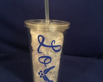 Air Force Plastic Tumbler 16 oz