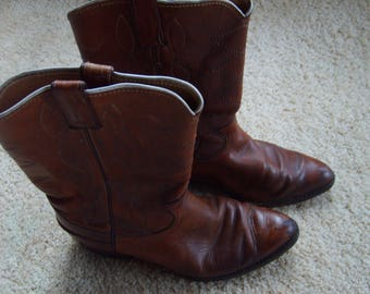 Cowboy Boots 10D by Justin, Justin Boots, Size 10 D Boots
