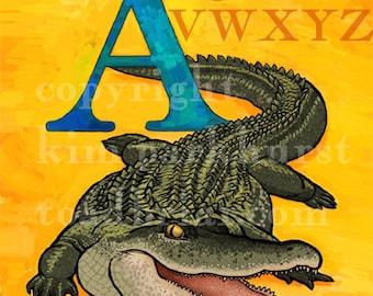 Entire Alphabet Set of 8x10 signed prints