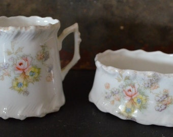 Victorian childs tea set cream and sugar