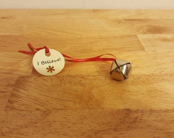 Polar Express Themed I Believe Bell Party Favor- Set of 20
