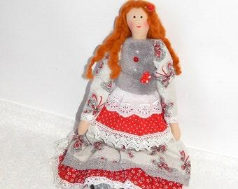 Tilda doll, fabric doll, Cloth doll, rag doll, handmade rag doll, Soft doll, kids doll toy, children toy