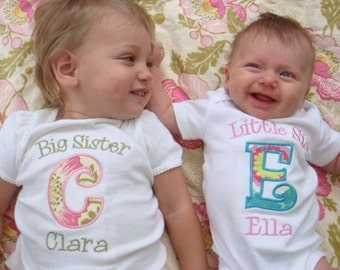 Big Sister Shirt / Big Sister Little Sister Outfits / Big Sister Announcement / Big Sisters Gift / Big Brother Little Brother Outfits