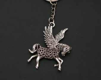 Flying Winged Horse Keychain (Item #410)