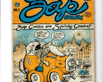 Zap Comics #1, first printing Mr. Natural R. Crumb, 1 of 3,500, scarce