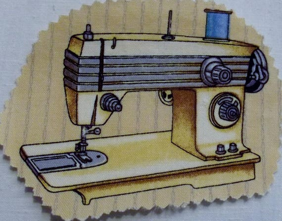 MACHINE SEWING 6 - FUSIBLE COTTON APPLIQUE