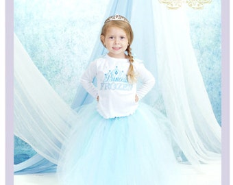 3 Pc Toddler Frozen Costume Frozen Birthday Outfit Princess Elsa Costume Girls Frozen Dress 2 3 4 Years
