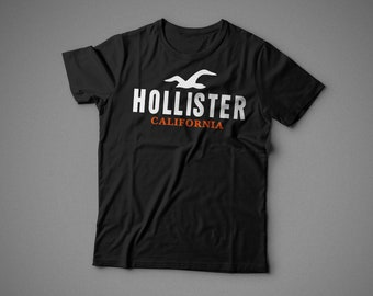 Hollister, T-shirt with individual design, 100% cotton, for woman