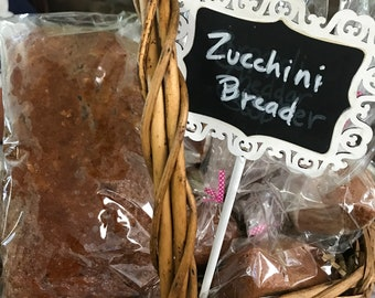 Zucchini bread. Homemade style bread. Handcrafted bread. Zucchini. No additives. Fresh Ingredients.