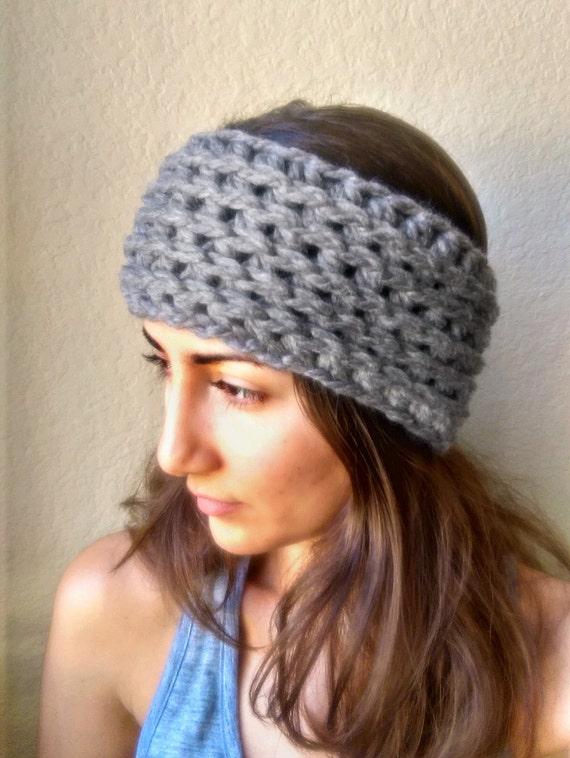 Chunky Crochet Ear Warmer Pattern Ear Warmer Crochet Pattern