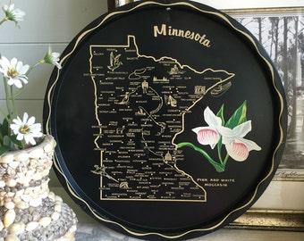 Minnesota State Tray