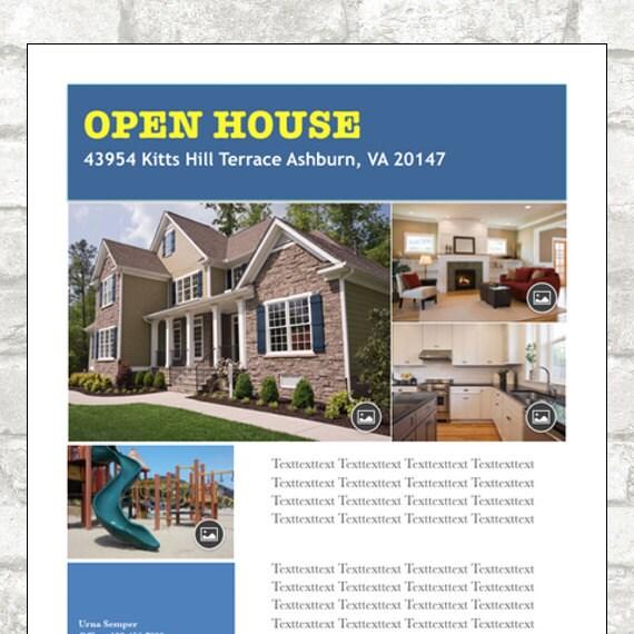 Digital Download Real Estate Open House Flyer Template