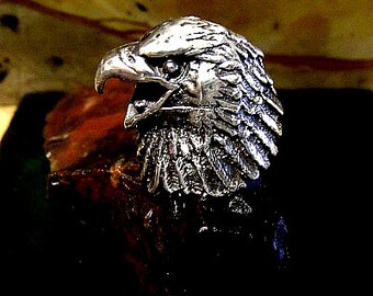 American Eagle Ring Solid Sterling Silver Free Domestic Shipping