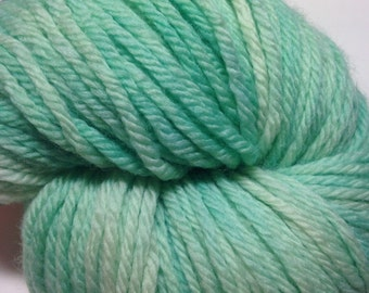 Mint  - worsted superwash merino yarn