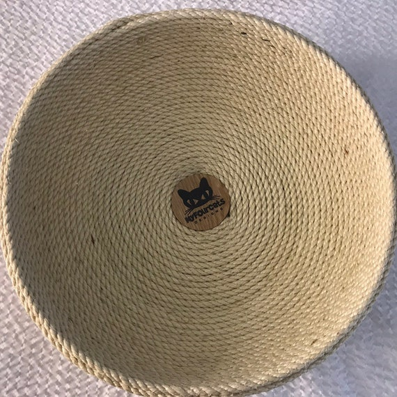 Cat Bed, rope bed, bowl bed, pet bed, sisal bed, woven crafts, cats