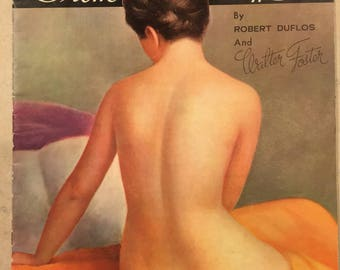 Vintage FIGURES From Life JUMBO Art Book by Robert Duflos and Walter Foster - Art Books - Neat Vintage Art Book for the Artist in Your Life!