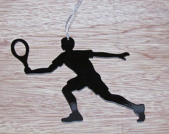 Tennis Player Ornament or Magnet