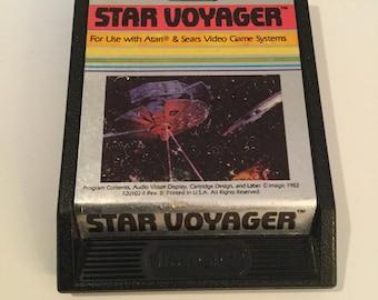 Vintage 1980's Star Voyager For Atari 2600