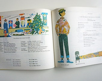 Vintage Illustrated Book | Children's Book | Illustrated Book
