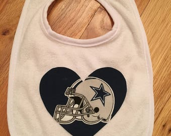 Dallas Cowboys Heart Bib