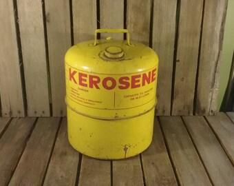 Rusty Kerosene Can, Decor Piece Only Bottom has A Few Hole