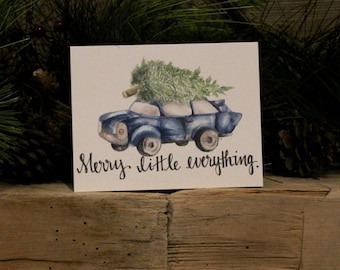Holiday Wishes - Set of 5 Cards