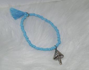 Beaded Bracelet 4pc Set Stretch Bracelets