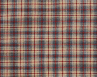 100% Cotton Antique Checkered Fabric (EY20041-D)