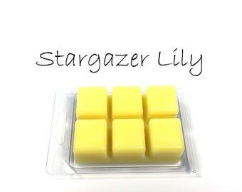 Stargazer Lily Soy Wax Tarts