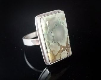 Red River Turquoise Ring Size 9