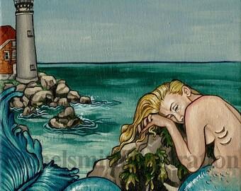 Lighthouse Mermaid - Loss