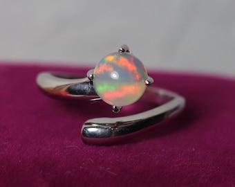 UNIQUE Opal ring, fire opal, opal ring, natural opal ring, natural opal, silver ring, silver opal ring, Opal, Opal jewelry, genuine opal AAA