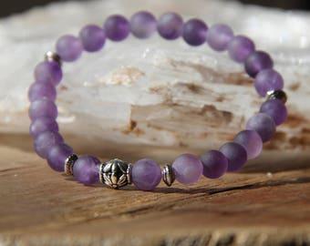 Grade A Amethyst Mala Bracelet