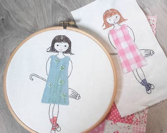 Embroidery pattern PDF - Number 1