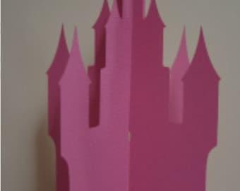 3D Fairytale Castle Centerpiece