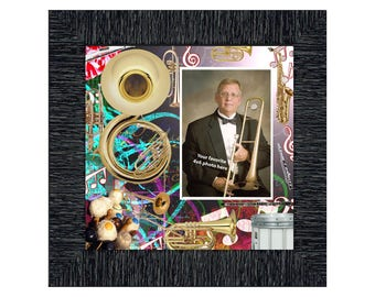 Band Director, Personalized Band Director Gifts Picture Frame, 10X10 3526