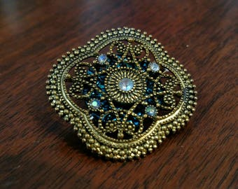 Filigree Hair Jewelry